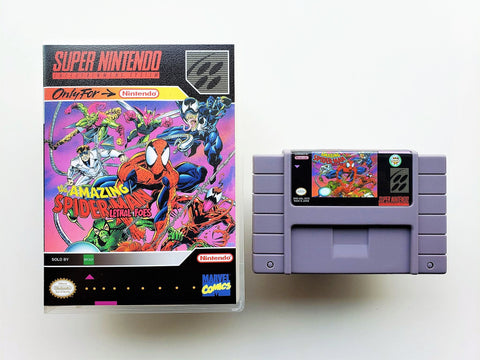 The Amazing Spiderman Lethal Foes - (SNES)