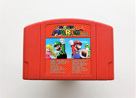 Super Mario 64 Hack 18 in 1 Multicart (N64)