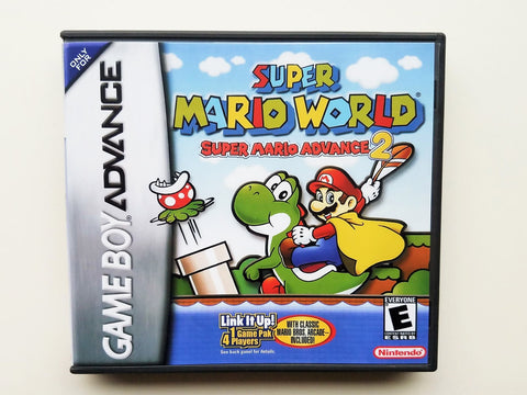 Super Mario World- Super Mario Advance 2 (GBA)