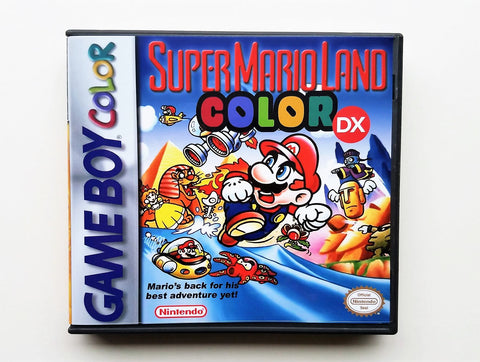 "Super Mario Land 1 DX ""Colorized"" (GBC)"