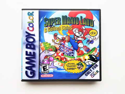 "Super Mario Land 2 DX ""Colorized"" (GBC)"