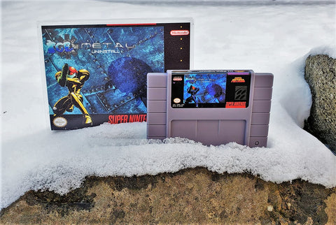Super Metroid Ice Metal Uninstall - (SNES)