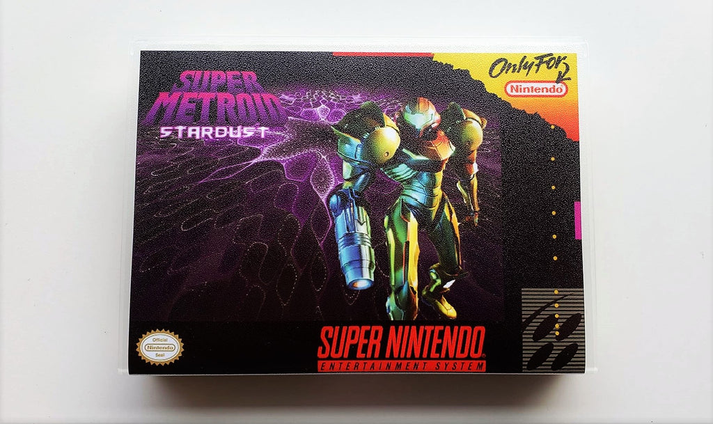 Super Metroid Star Dust - Super Nintendo SNES English Fan Hack