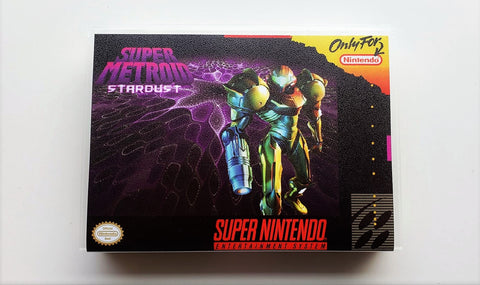 Super Metroid Star Dust - (SNES)