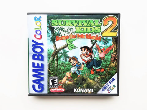 Survival Kids 2 - English (GBC)