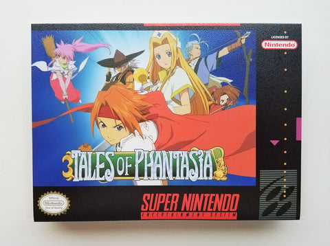 Tales of Phantasia - (SNES)