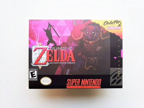 BS The Legend of Zelda Ancient Stone Tablets - (SNES)