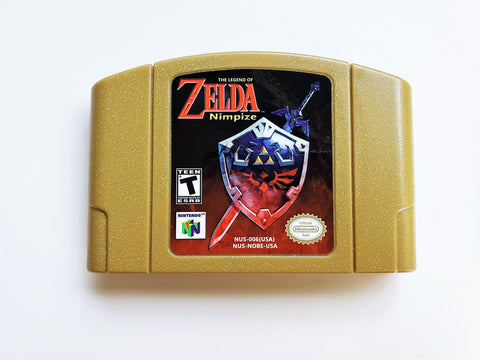 Legend of Zelda Nimpize Adventure (N64)