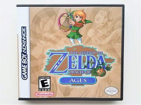 Zelda Oracle of Ages (GBA)