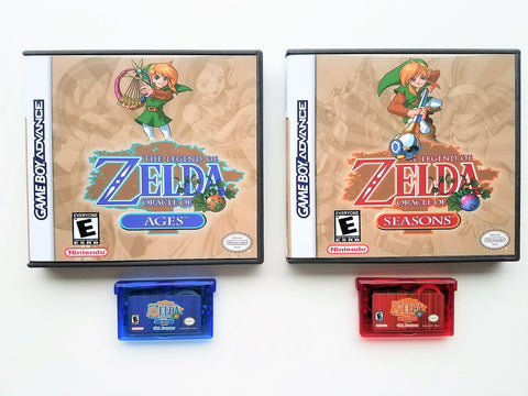 Zelda Oracle of Ages & Seasons (GBA)