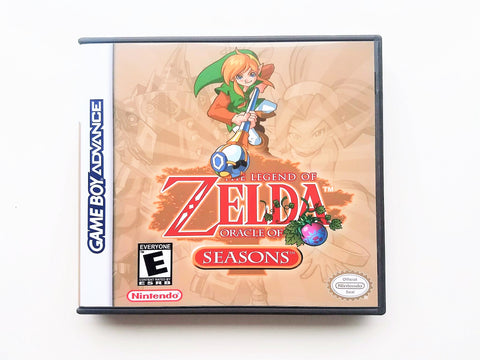 Zelda Oracle of Seasons (GBA)