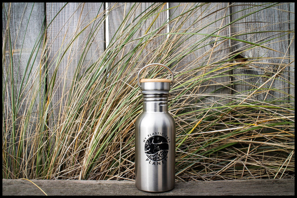 Classic Silver - Bamboo Lid 500ml