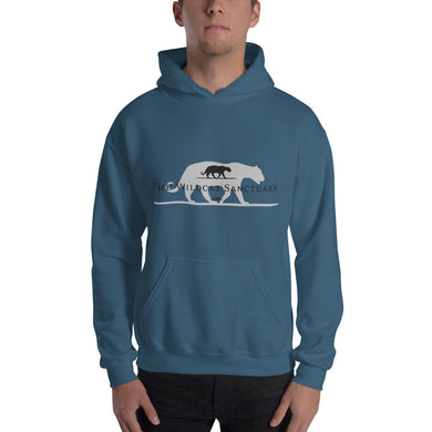 Wildcat Sanctuary Logo hooded sweatshirt