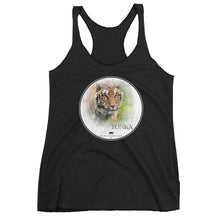 Tiger Tonka women's racerback tank top