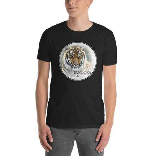 Tigress Pandora short-sleeve unisex t-shirt