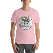 Tiger Griffen short-sleeve unisex T-Shirt