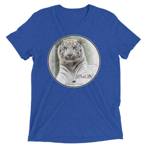 Tiger Simon women's short sleeve t-shirt