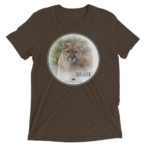 Cougar Blaze unisex short sleeve t-shirt