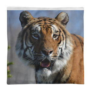 Tiger Dimitri Square Pillow Case only