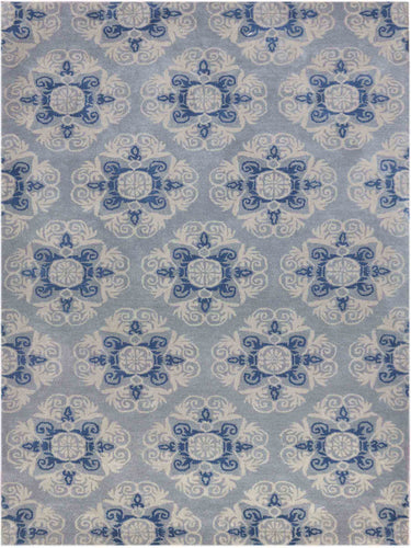 Ascent Hand Tufted - ASC-349  Smoke Blue
