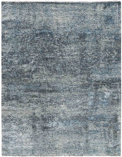 Glamour Hand Knotted Rug - Gla-25 Polo Blue