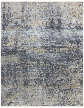 Glamour Hand Knotted Rug - Gla-26 Gray Gold