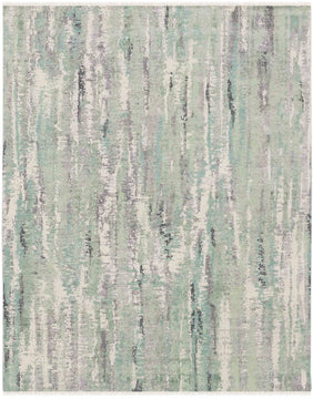 Glamour Hand Knotted Rug - Gla-43 Mint