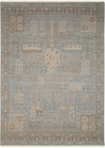 Nuit Arab Hand Knotted Rug - Nui-1 Water spray_HS