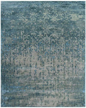 Synergy Hand Knotted Rug - RC-66 Platinum-Blue