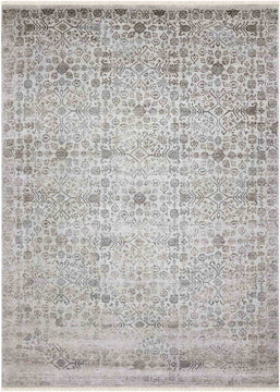 Rhapsody Hand Knotted Rug - Rhp-11 Silver