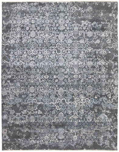 Rhapsody Hand Knotted Rug - Rhp-30 Graphite