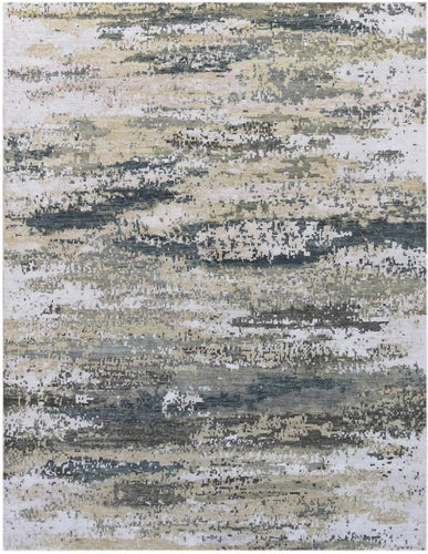 Synergy Hand Knotted Rug - SYN-12 Sea Blue