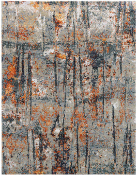 Synergy Hand Knotted Rug - SYN-15 Stone Blue