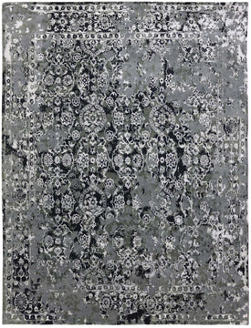 Synergy Hand Knotted Rug - SYN-22 Stone Blue