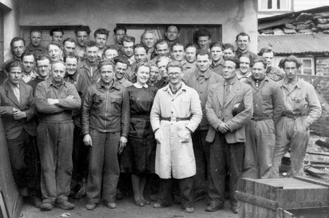 Helle workers 1950s
