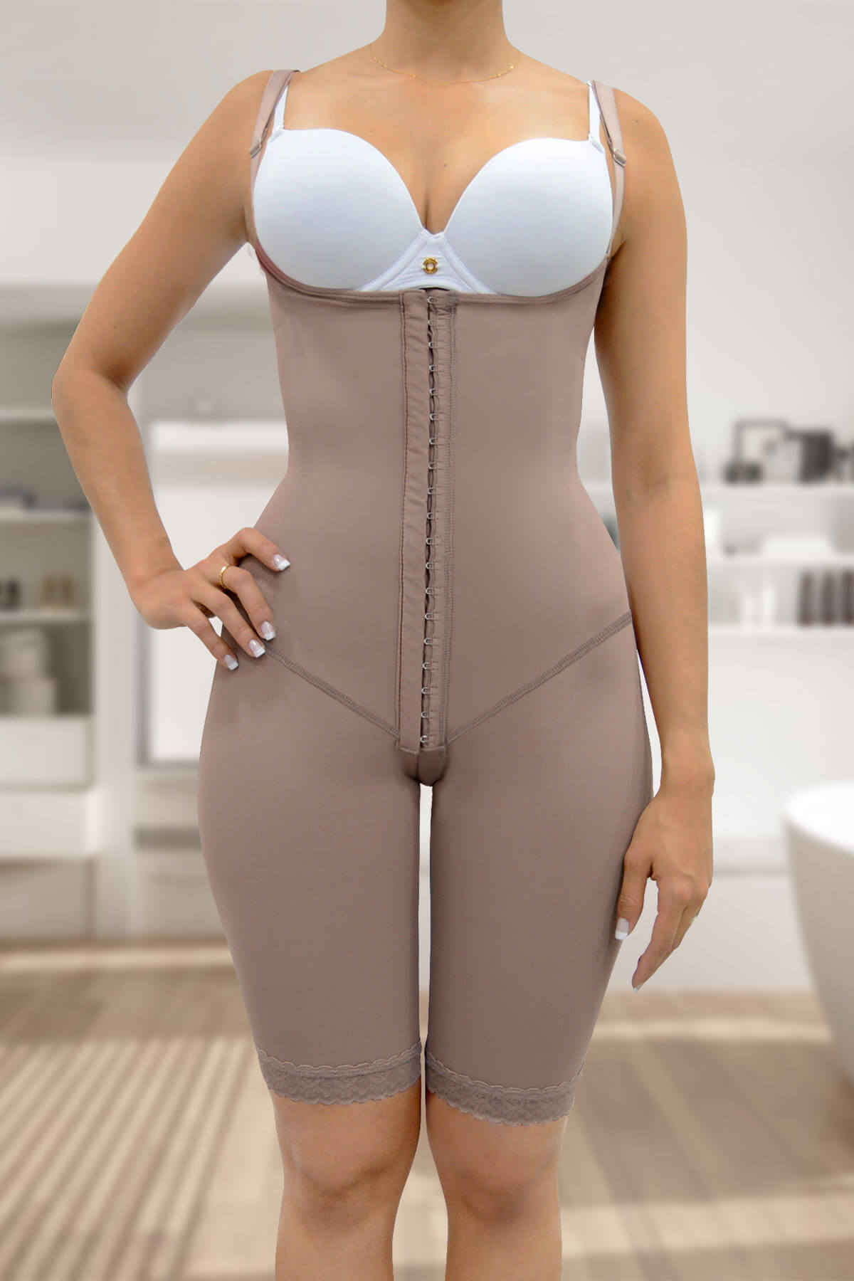 278ec22bba POST-SURGICAL FULL BODY LONG SECOND STAGE SHAPER-CUR2212 - Phoenix e-Market