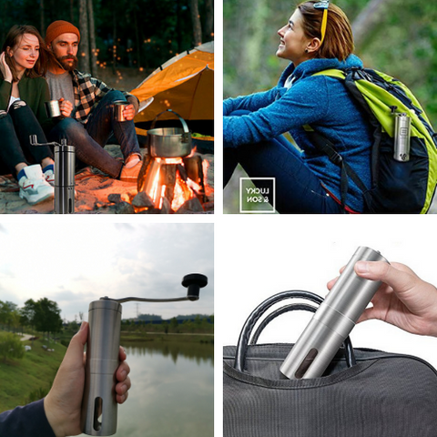 Starbrew Portable Coffee Grinder - Outdoors