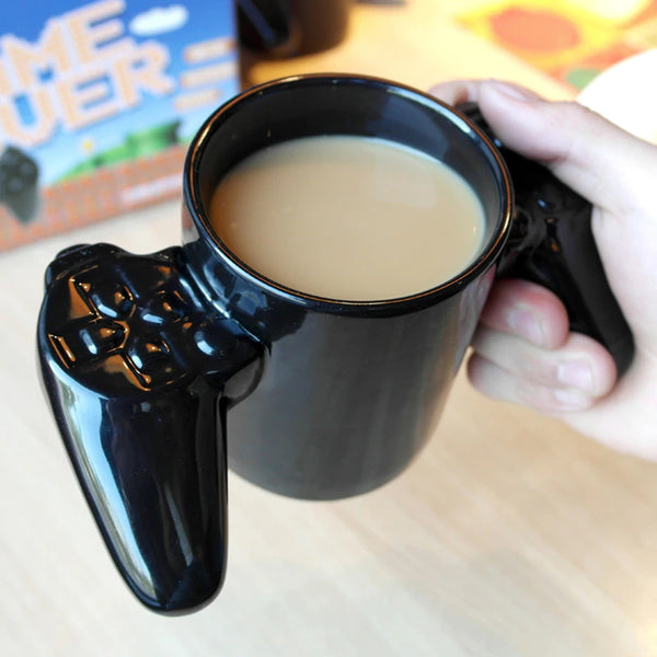 "Gamepad ""Game Over"" Gamer Coffee Cup"