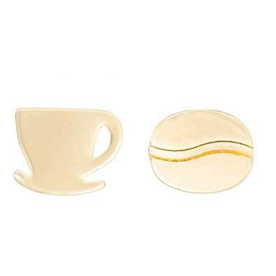 Luxyglo Coffee Cup and Bean Earrings