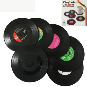 Classic Vinyl Record Coffee Coaster