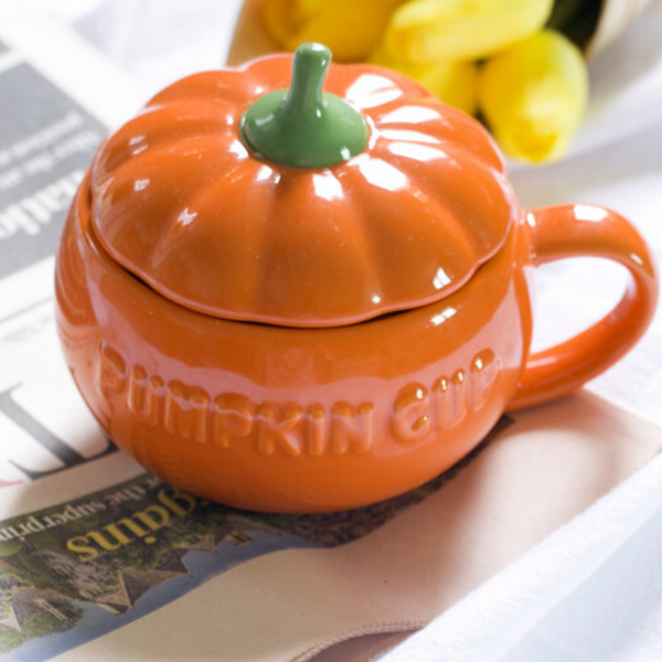 Pumpkin Ceramic Coffee Mug