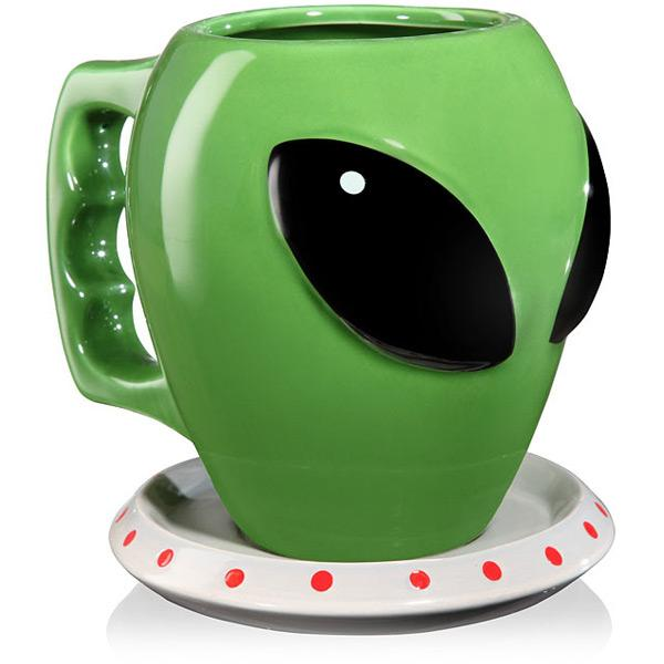 Alien Ceramic Coffee Mug