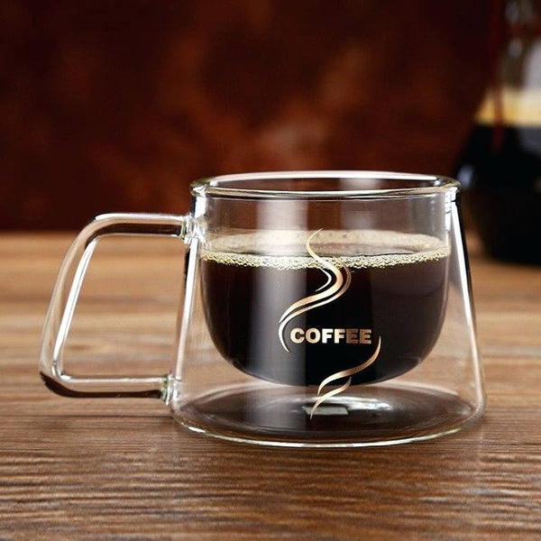 Premium Double-Walled Coffee Mugs