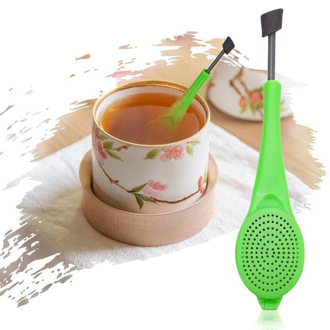 Spoon Tea Infuser Plunger