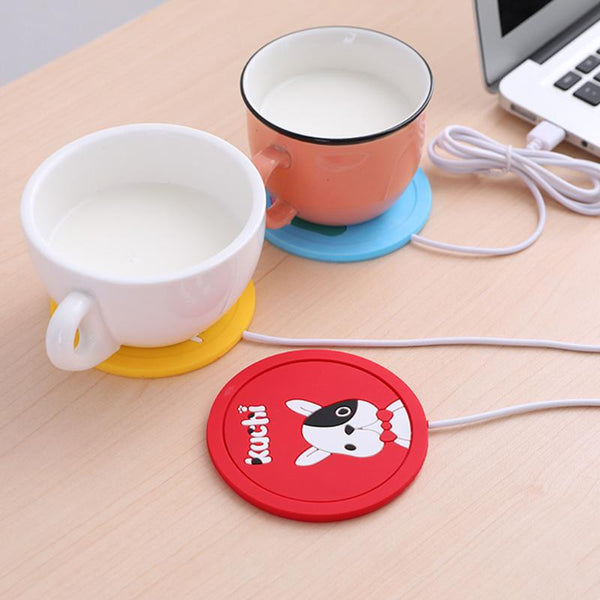 Cartoon Coaster USB Coffee Mug Warmer