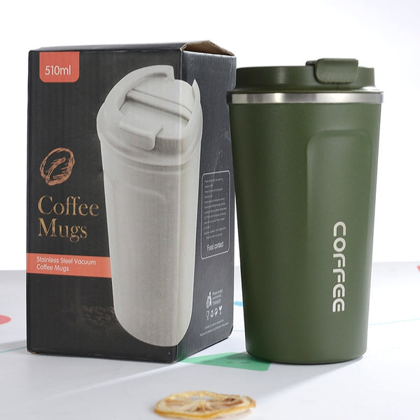Coffee Thermos Travel Mug - Gift Box