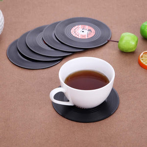 Vinyl Record Drink Coaster