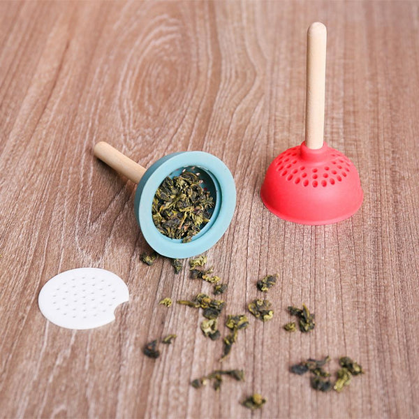 Toilet Plunger Tea Infuser