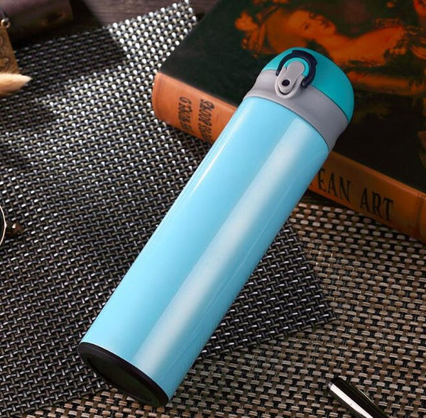 Thermos Stainless Steel Travel Mug - Blue