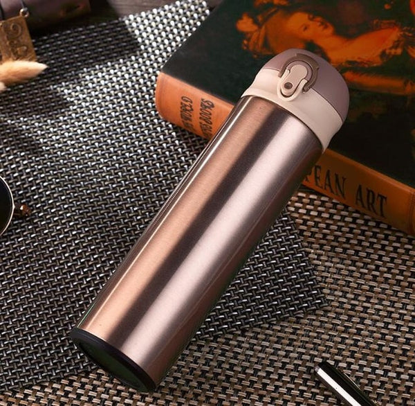Thermos Stainless Steel Travel Mug - Golden